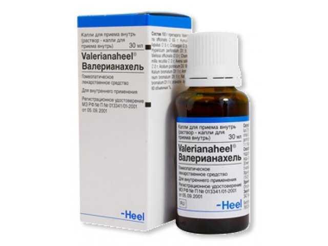 препарат Валерианахель