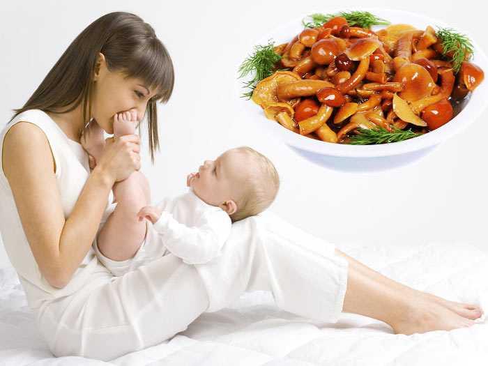 Кормящей маме в рацион стоит добавить грибы, приготовленные на пару