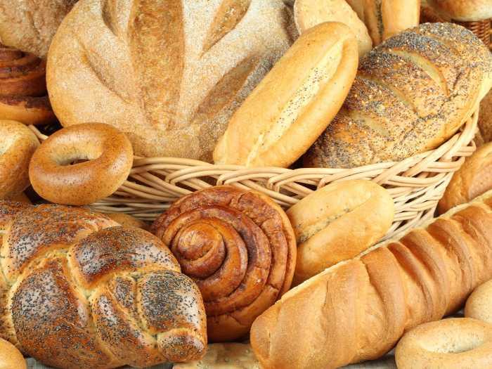 Хлебобулочные изделия изредка можно добавлять в рацион