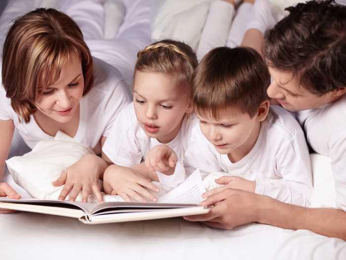 Коллективное чтение для обучения детей
