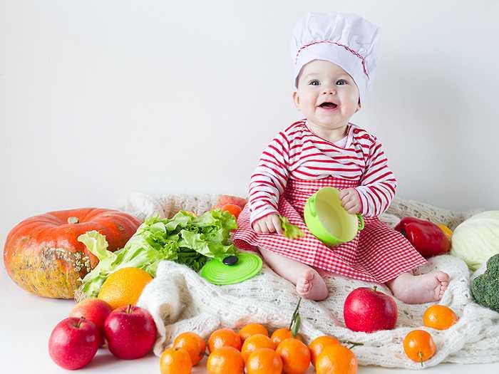 Овощи и фрукты для разнообразия рациона