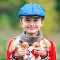 Для детей потребление грибов должно быть минимальным