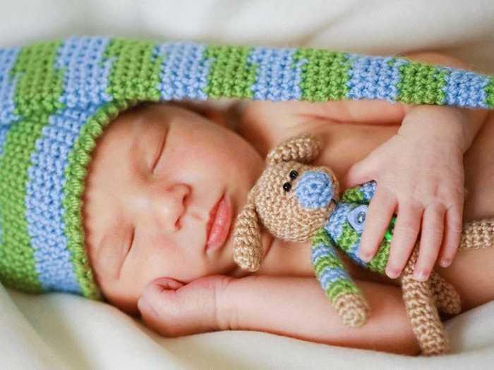 Крепкий сон новорожденного составляет почти 20 часов в сутки