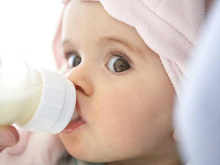 правильное питание смесью новорожденного