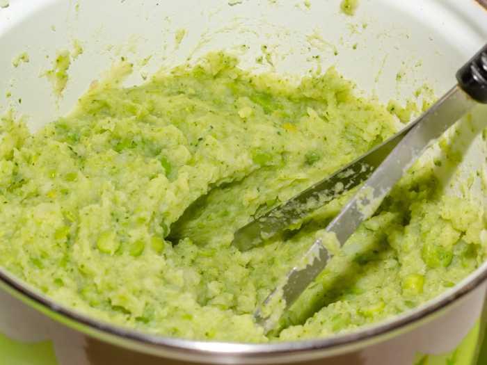 Приготовление пюре из брокколи с картошкой