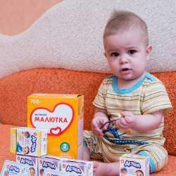 Продукция Агуша для прикорма маленького ребенка
