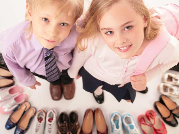 Для детей любого пола и возрастов представлен большой выбор обуви