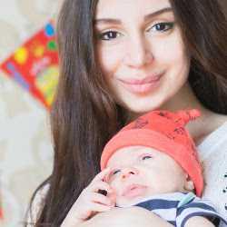 Мама вместе с малышом