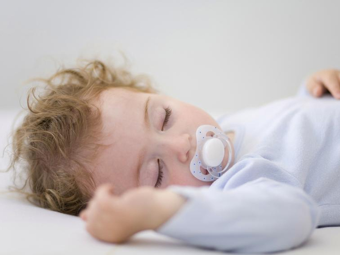 В 7 месяцев режим сна у ребенка уже выстроен