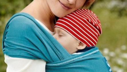 Как правильно завязать, выбрать, сделать своими руками слинг-шарф для детей