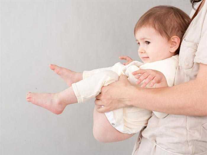 Высаживание ребенка избавляет от многих проблем