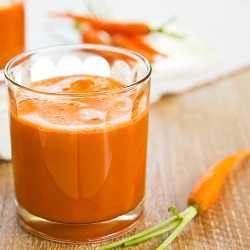 Густой сок из моркови