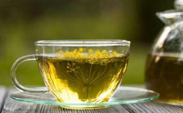 Чай с фенхелем и укропом