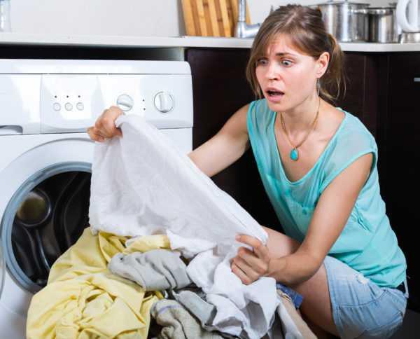 Вывести пятно можно домашними средствами