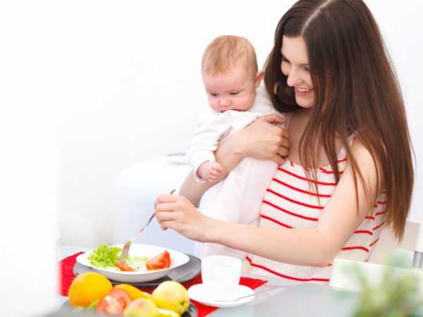 При планировании диеты необходимо думать о малыше