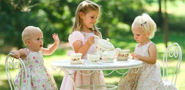 Пить чай ребенку необязательно