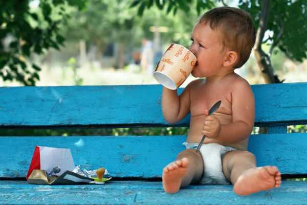 Чай полезен для ребенка