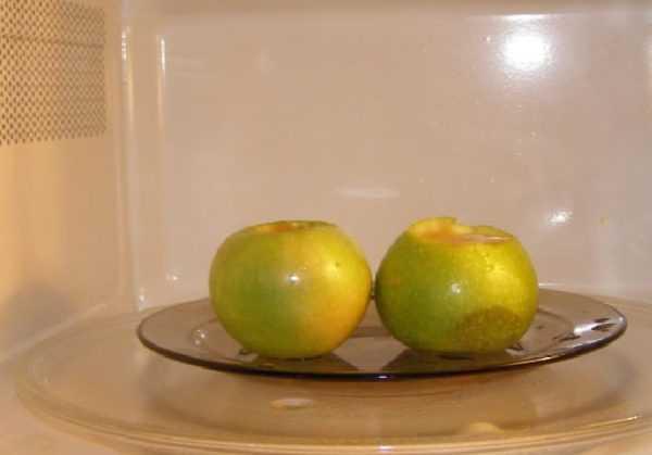 Зеленые яблоки содержат больше витаминов