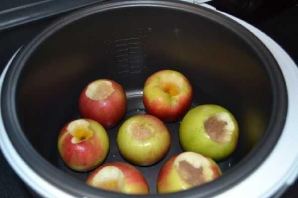 Мультиварка подходит для запекания яблок
