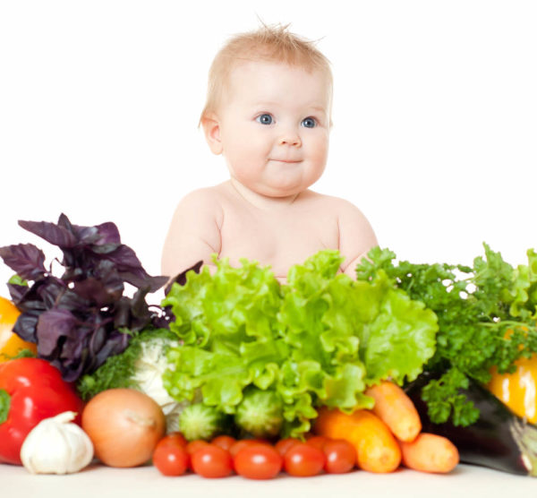 Рацион детей в 8 месяцев довольно разнообразен
