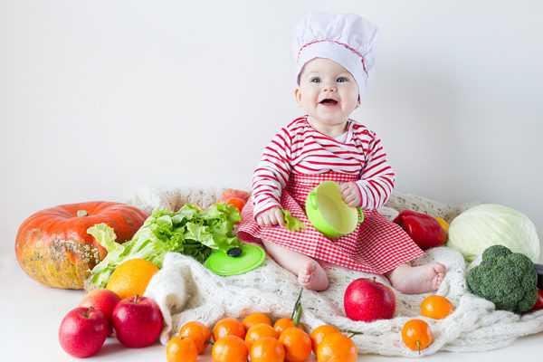 Малыш нуждается в самой свежей пище