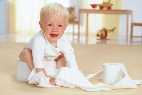 Боязнь горшка у детей встречается довольно часто