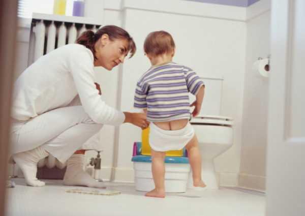 Психология может помочь приучить ребенка к горшку