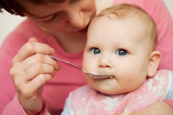 Четырехмесячный малыш нуждается в 5-разовом питании