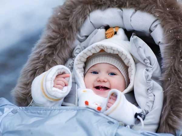 Прогулки с малышом обязательны