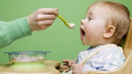 Во сколько месяцев начинать прикорм (готов ли ребёнок к прикорму)?